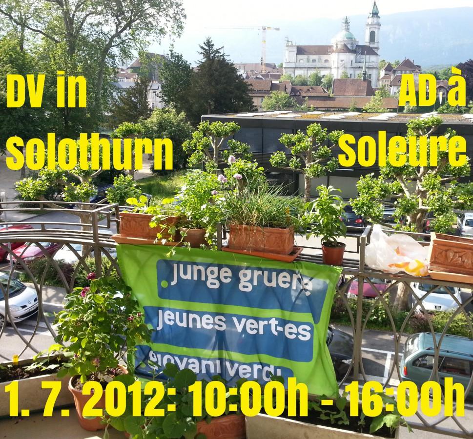 AD des JVS le premier juillet à Soleure - est-ce que tu vienrdas aussi?